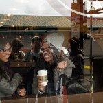 ( Matching and relaxing at the original Starbucks // Pike Place Market )
