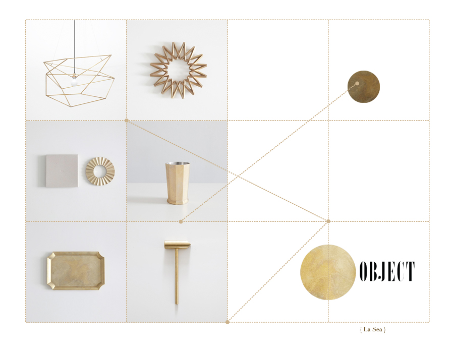 Brass finds // Object, Seattle