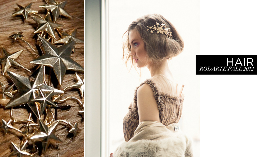 WEDDING // Hair inspiration from Rodarte Fall 2012