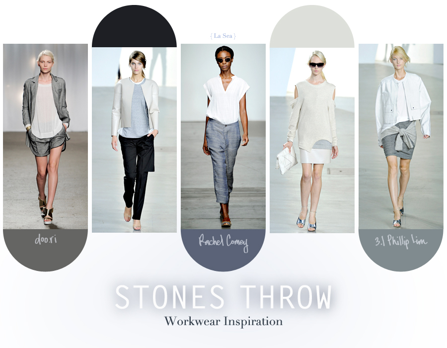 WORKWEAR // Inspiration from SS2012